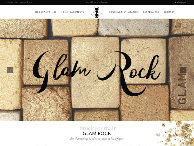 Glam Rock, cosmétique capillaire naturelle et bio