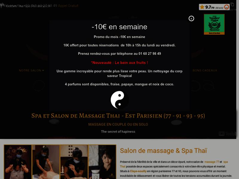 Golden Thai Spa, salon de massage et spa Thaï