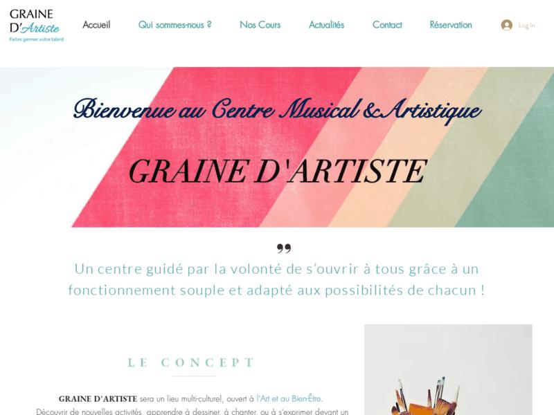 Graine d'Artiste, école de musique à Valence