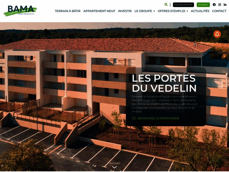 Promoteur et aménageur foncier Gard BAMA