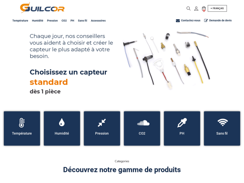 Guilcor - achat thermocouple