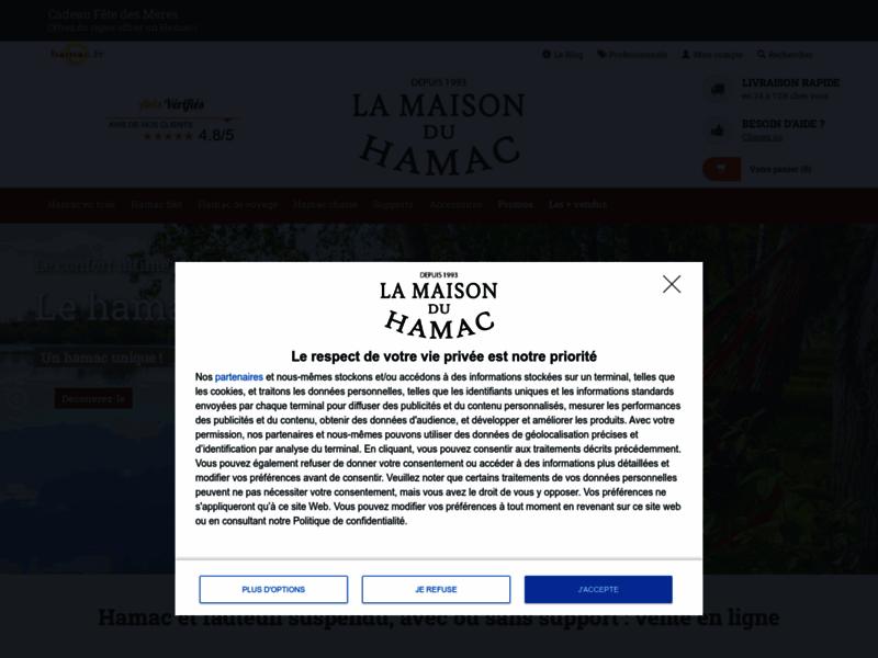 Hamac.fr : un grand choix de hamac directement en ligne
