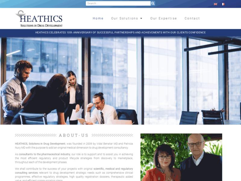 Heatics : consultants industrie pharmaceutique