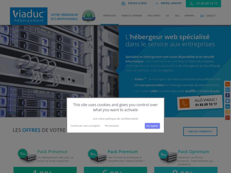 Hebergeur, hébergeur web spécialisé