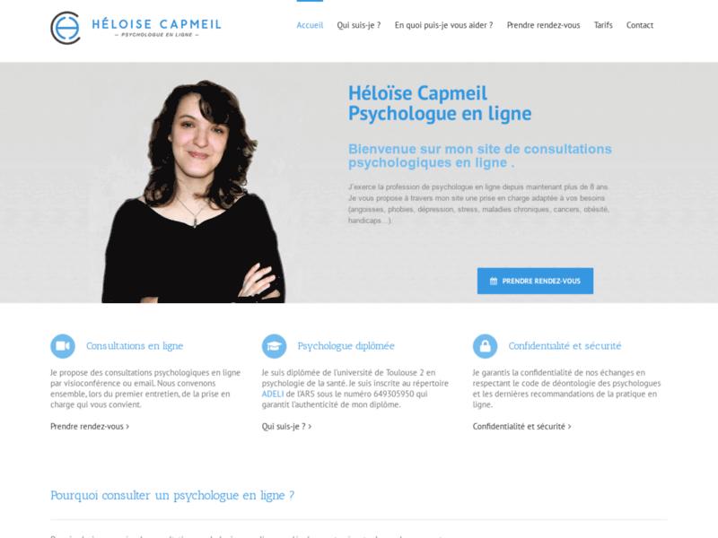 Psychologue en ligne : Héloise Capmeil