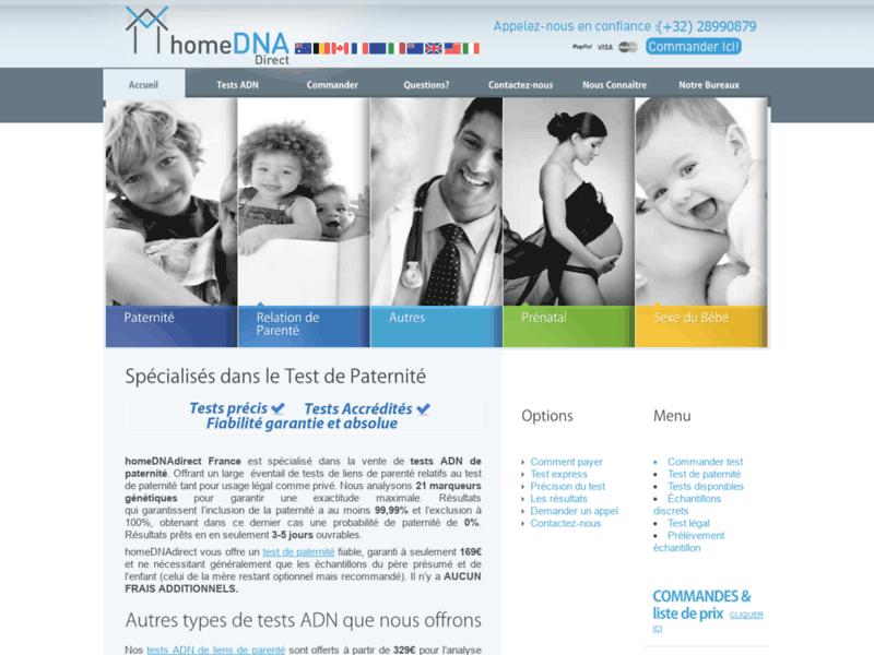 homeDNAdirect France