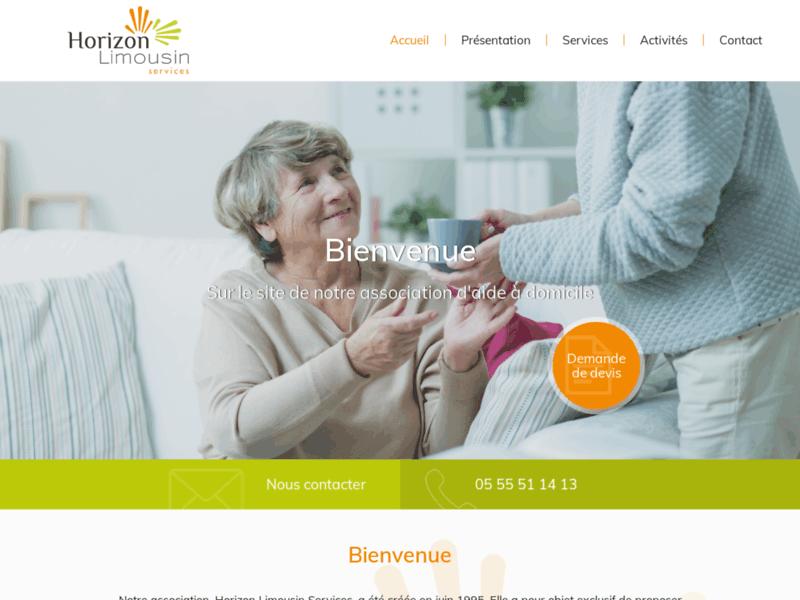 Horizon Limousin : Aide à la personne âgée et handicapée en Creuse (23)