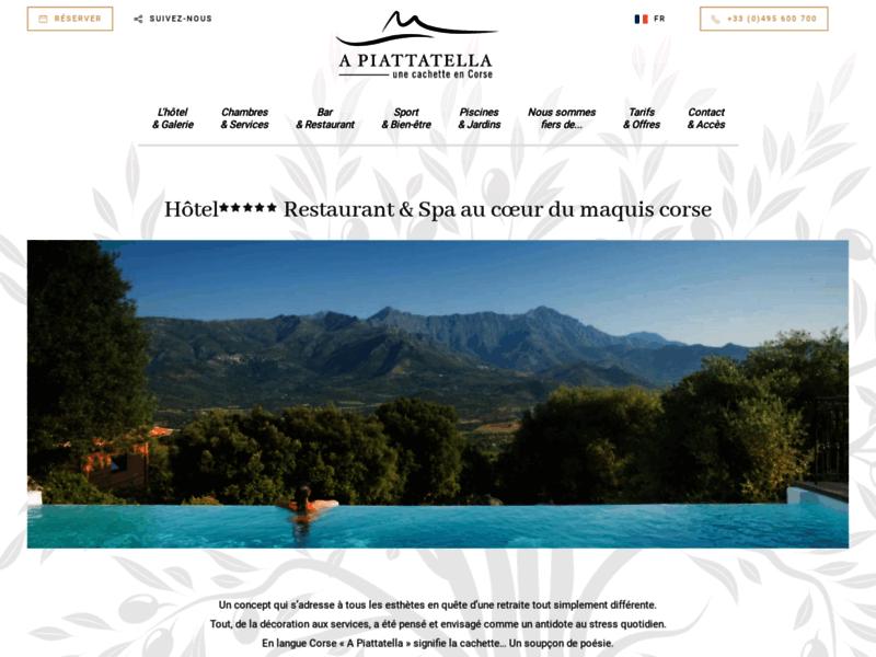 Hôtel A Piattatella, le havre de paix rêvé en Corse