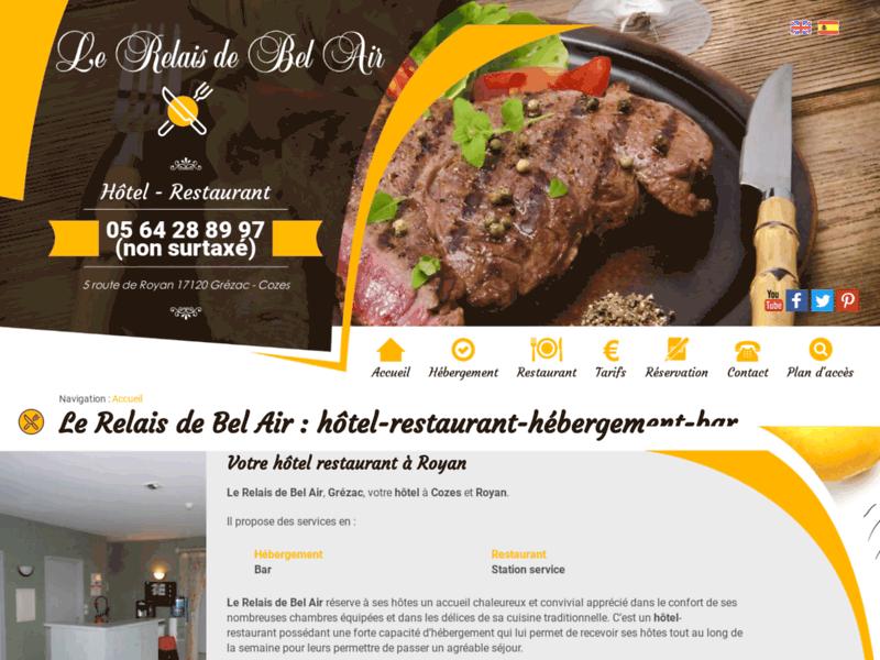 Le Relais de Bel Air, hôtel restaurant