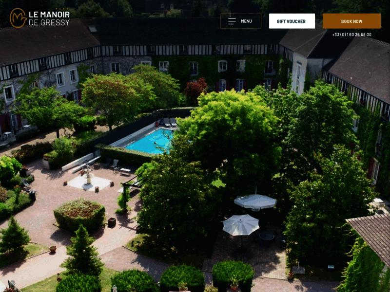 Hôtel 4 étoiles en Seine-et-Marne - Le Manoir de Gressy