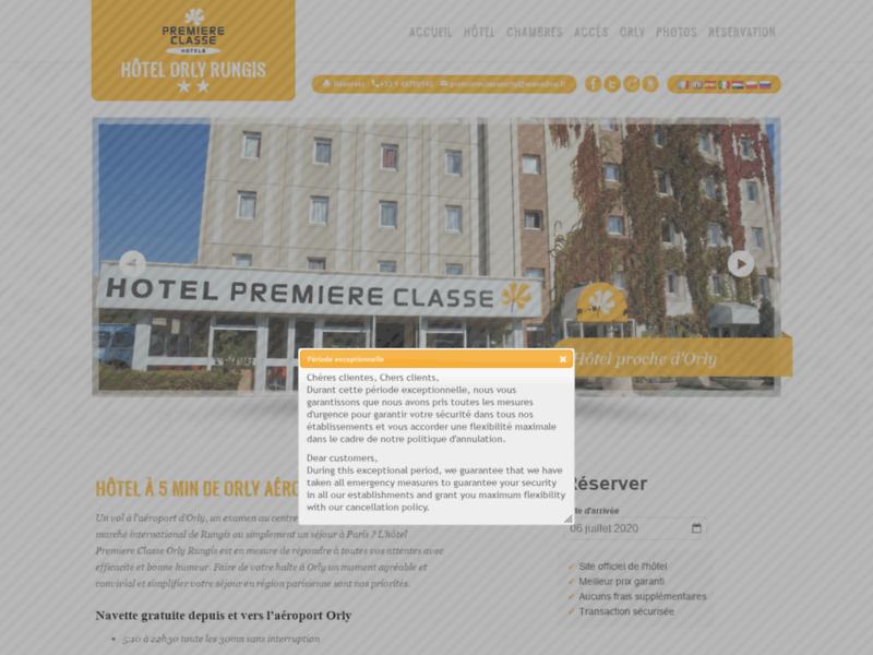 Première Classe Orly Rungis, hôtel à Orly Rungis aéroport