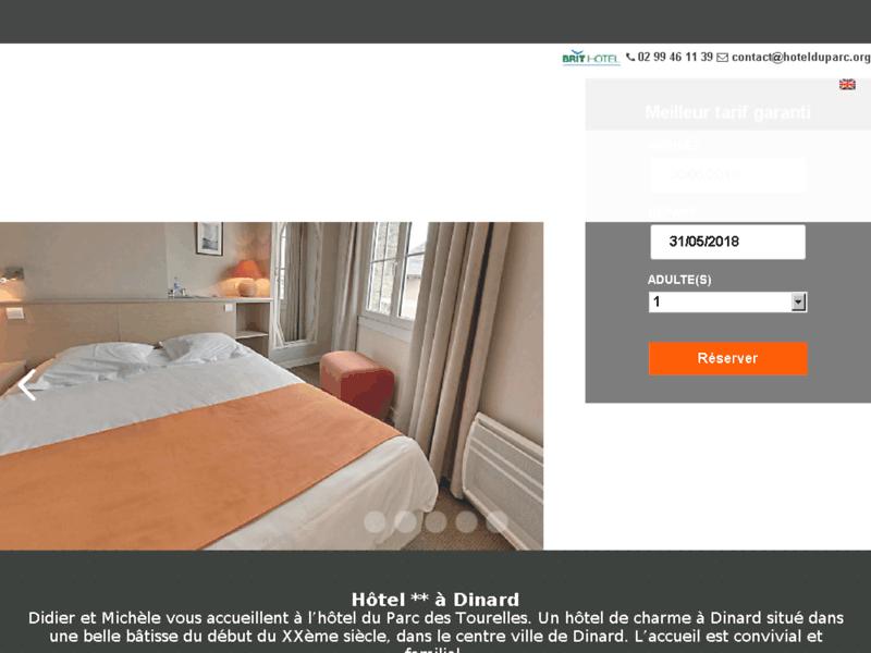 Hôtel Dinard Parc des Tourelles
