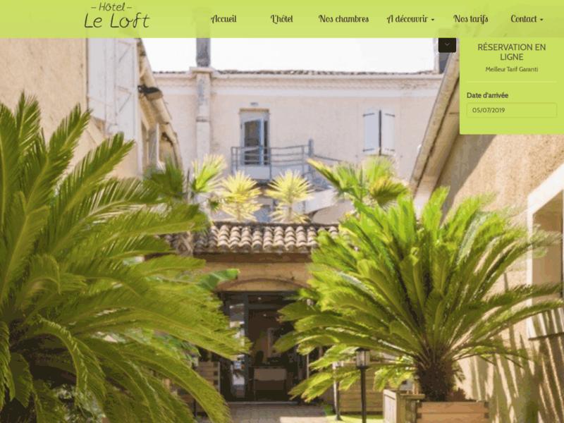 Hôtel de charme près de Mirande et Marciac : Le Loft