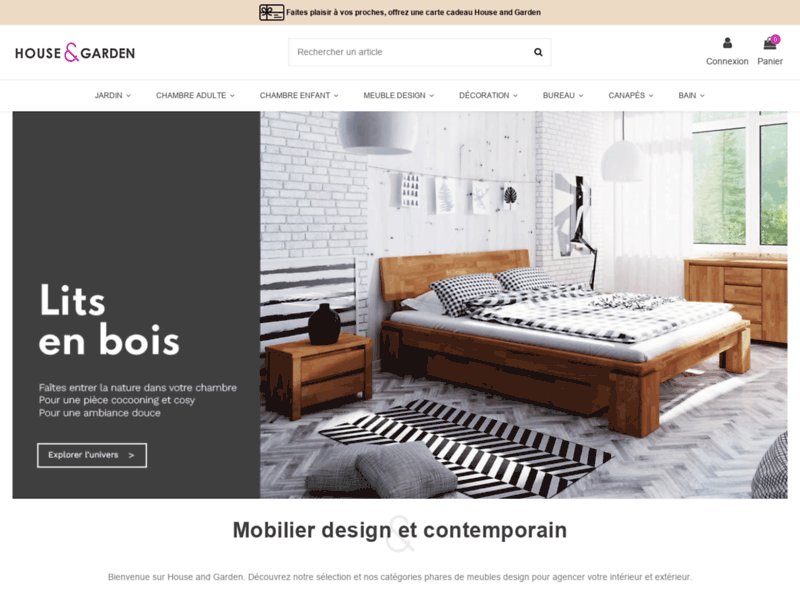 Vente meubles design - House & Garden