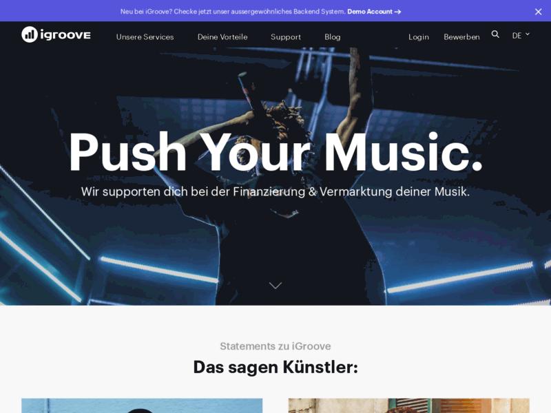 Faites découvrir votre musique en ligne sur iGrooveNext