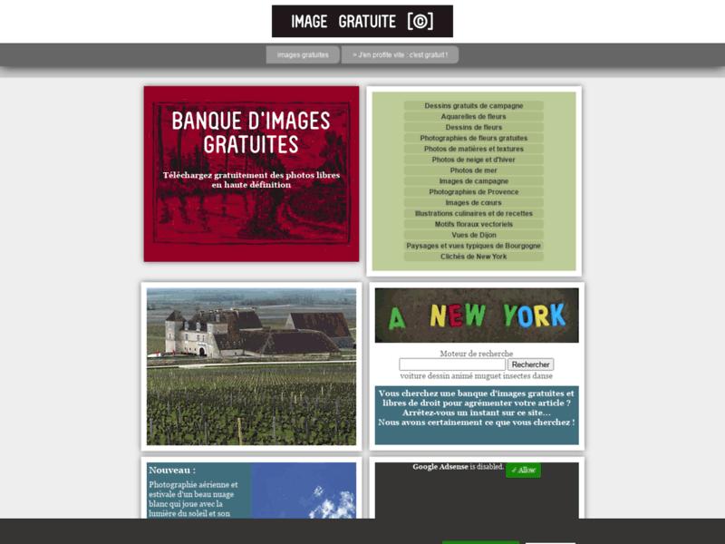 Banque photos HD : tout à zéro Euro