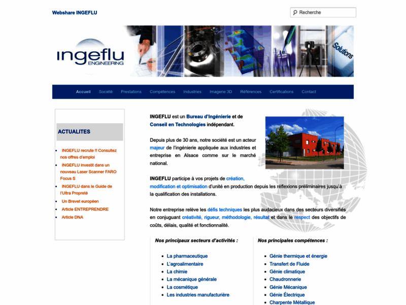 Ingeflu : Ingénierie industrielle