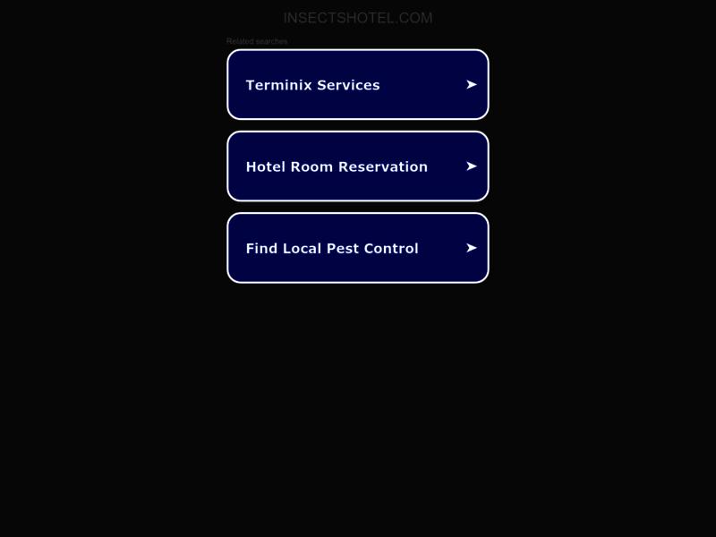 Tout sur les hôtels à insectes