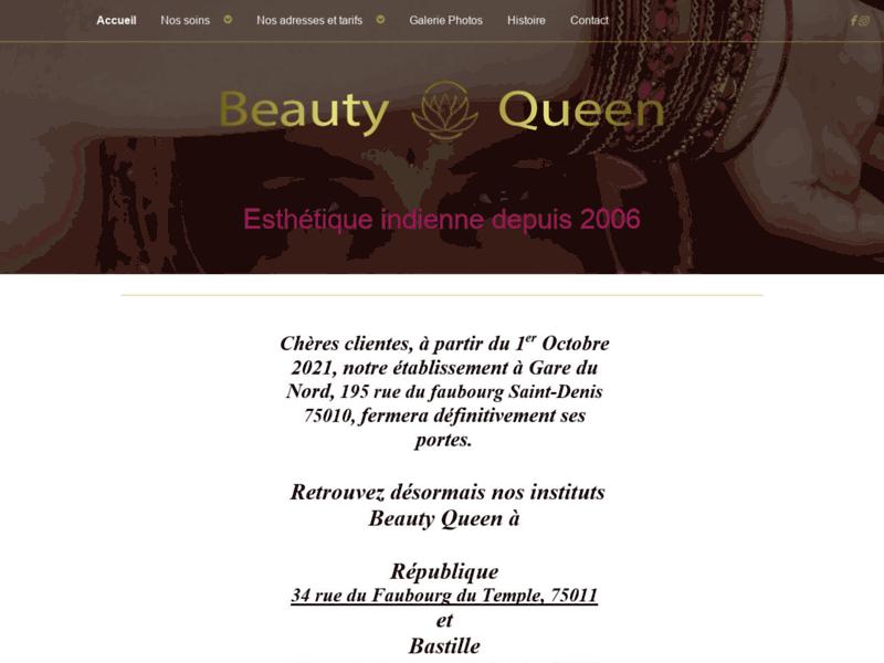Centre indien de beauté Paris 10éme - Beauty Queen