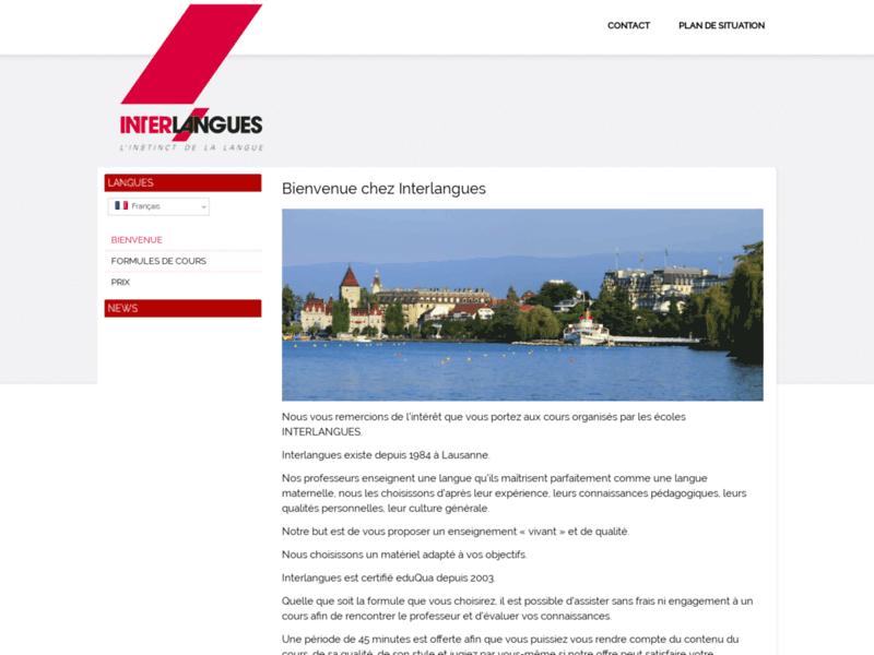 Interlangues, vos cours de langues à Lausanne et Yverdon