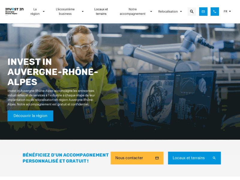 Investir en Auvergne-Rhône-Alpes