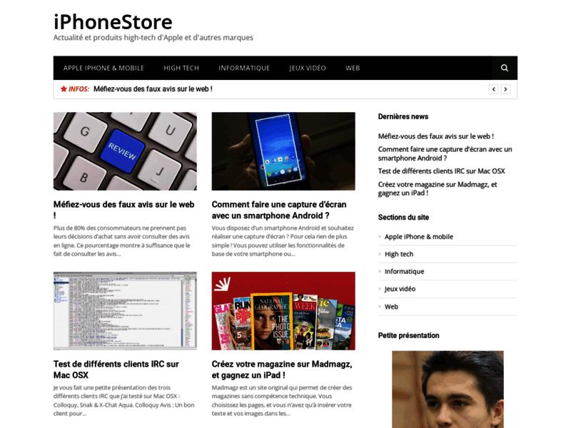 iPhoneStore : Accessoires et coques pour iPhone 5