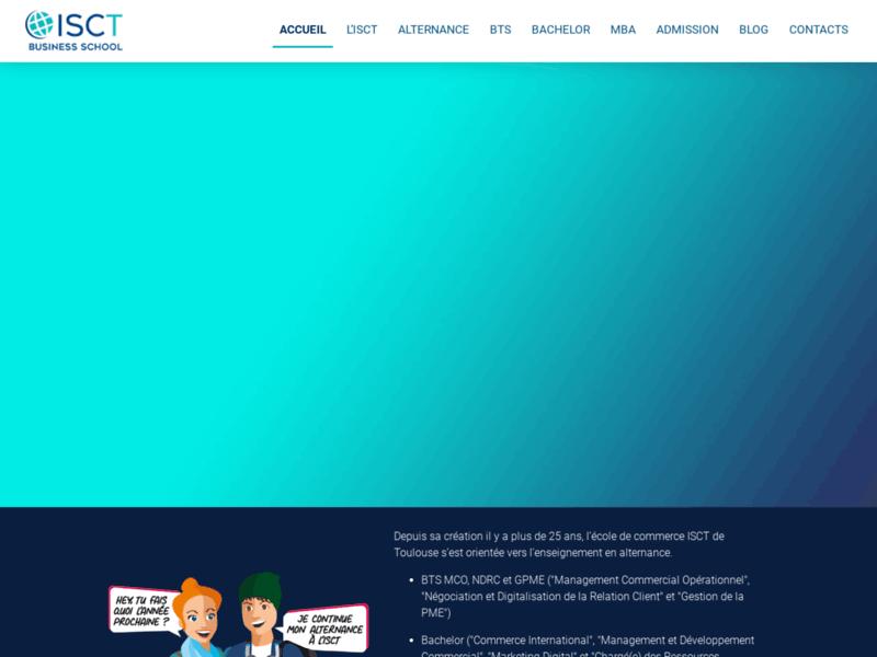 ISCT école supérieure de commerce de Toulouse