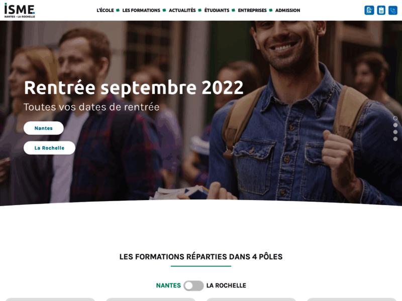 ISME - Ecole de commerce et de management en alternance