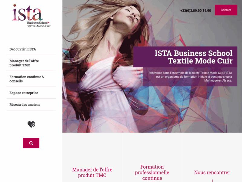 Ista : formation chef de produits textiles, acheteur textile