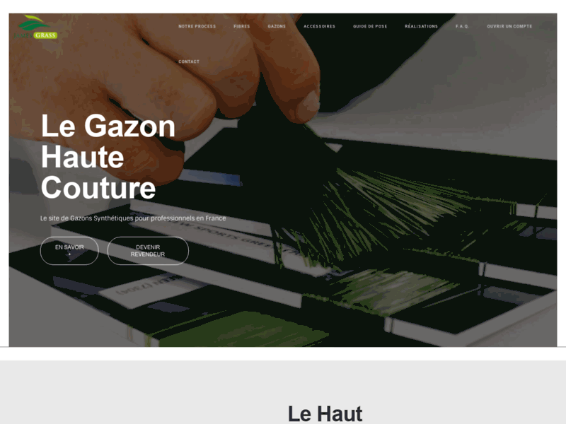 Fabricant - Grossite - Gazon Synthétique