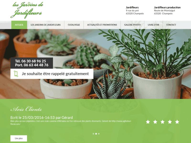 Les Jardins de Saint-Amant, paysagiste et pépiniériste, Saint-Nectaire