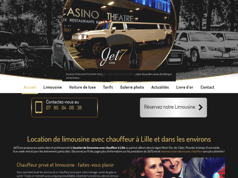 Limousine pour mariage, Nord-Pas-de-Calais
