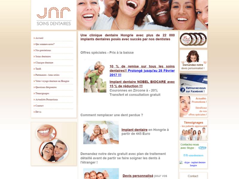 Clinique dentaire Hongrie - implant dentaire