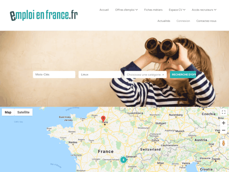 Jobsenfrance.fr - Offres d'emploi et de stage en France