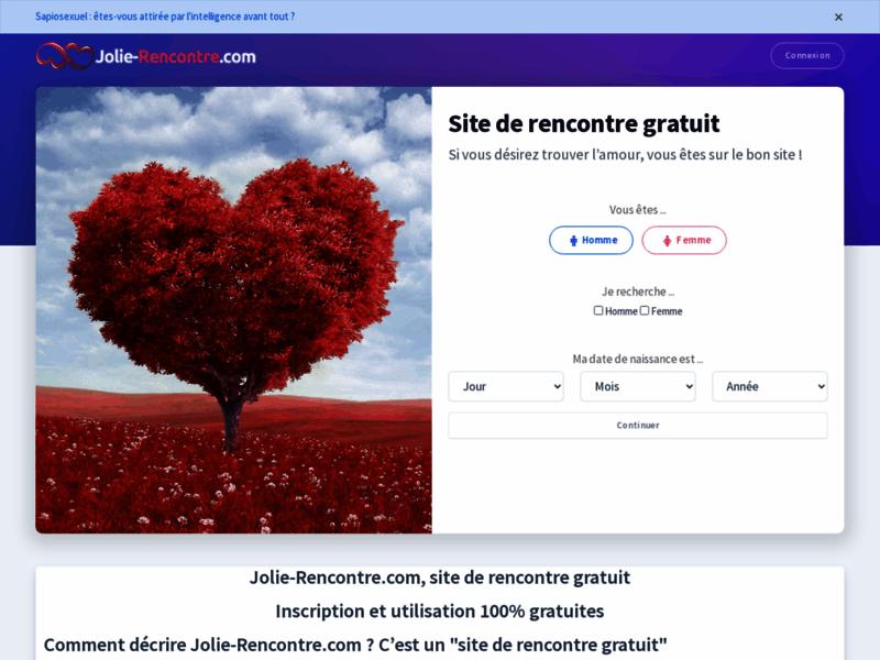 Jolie-Rencontre.com : le site de rencontre gratuit et sérieux pour les célibataires