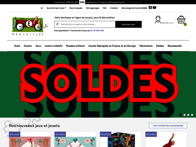 Vente en ligne de jouets