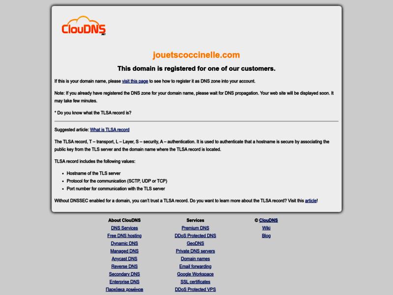 Jouets éducatifs - La Coccinelle