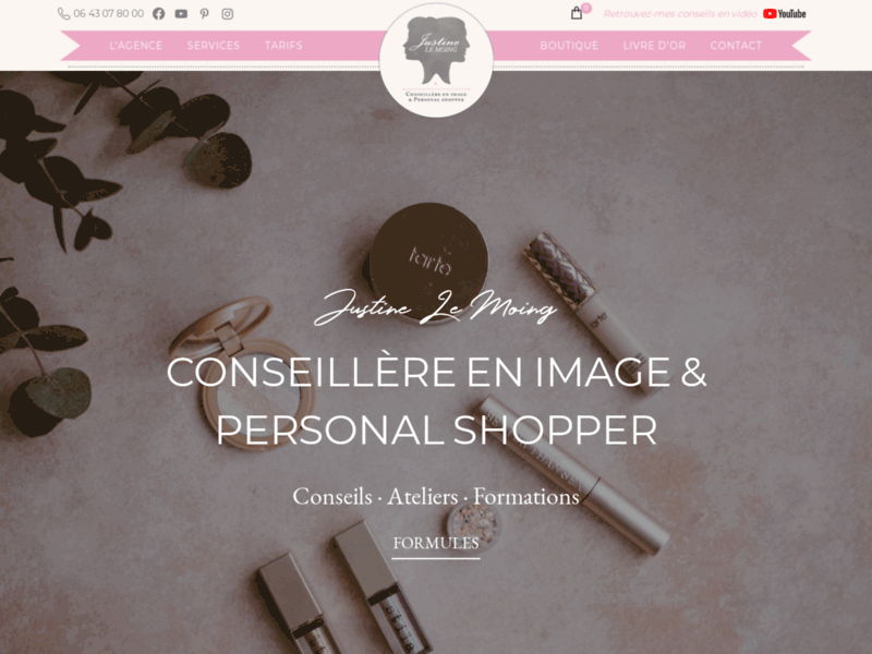 Justine Le Moing - Conseil en Image & Personal shopper