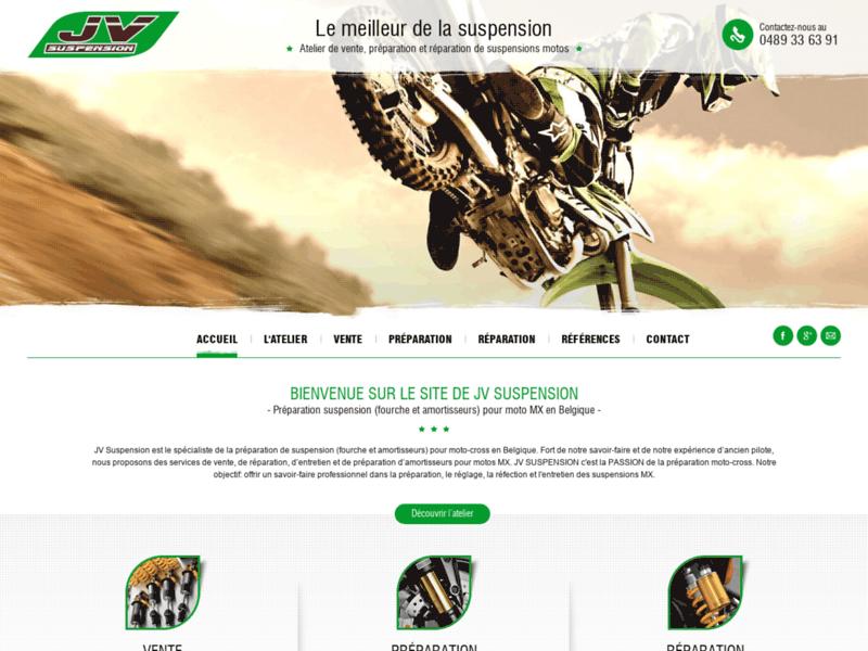 Préparation suspension moto