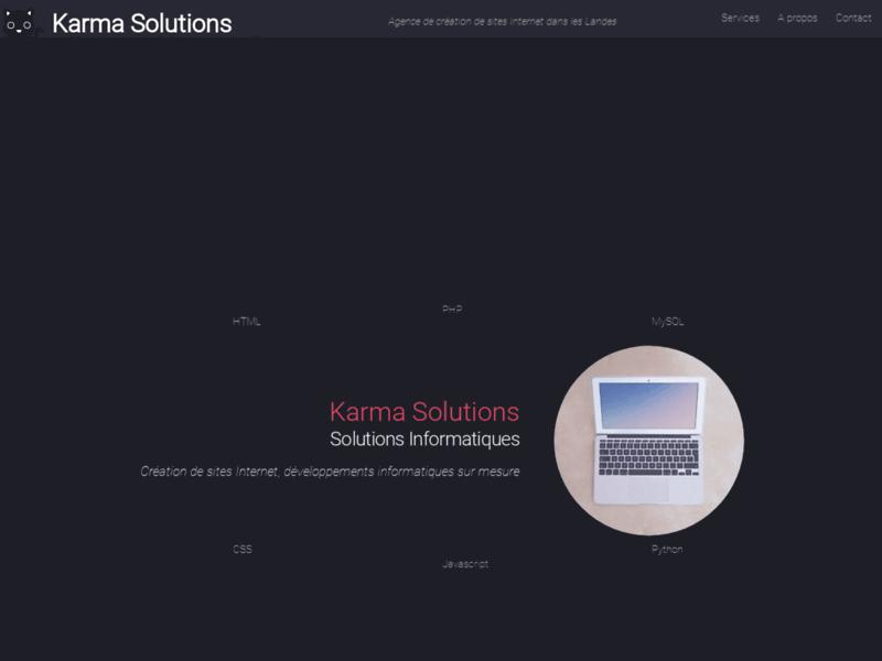 Karma Solutions, développements informatiques