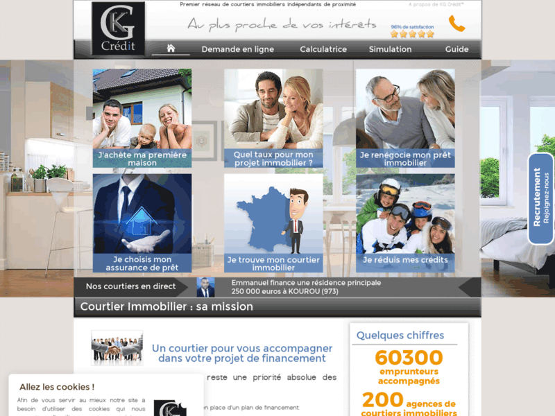 KG Crédit, courtier en prêt et crédit immobilier