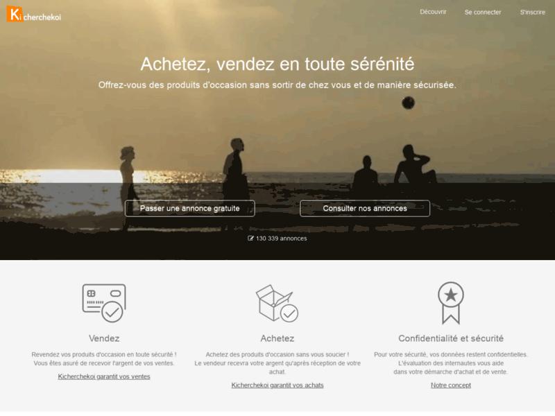 Kicherchekoi, site de petites annonces gratuites