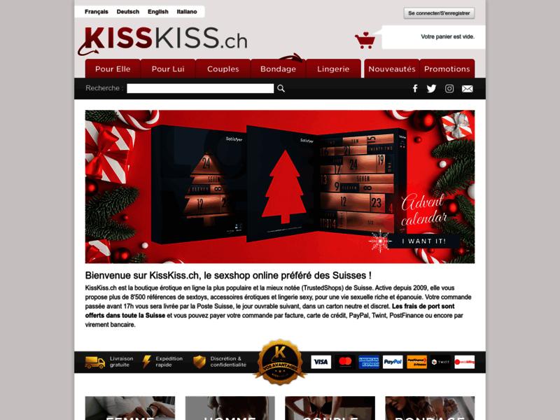 KissKiss - Boutique coquine