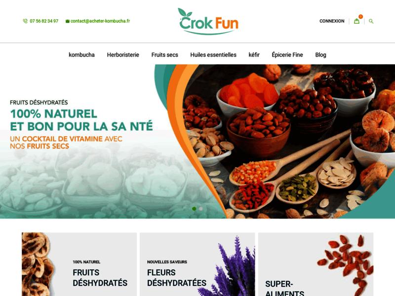 KombuchaKefir : Achat et recette de kombucha, de Kefir et de probiotiques naturels