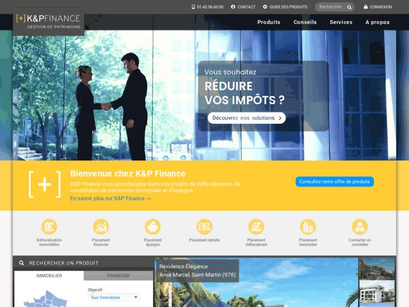 K&P Finance, simulation d'impôts sur le revenu