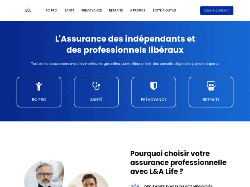 L&A life - RC Pro, Santé, Prévoyance, Retraite