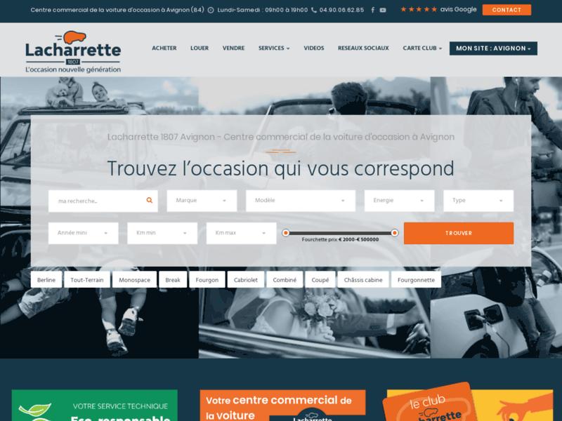 Lacharette : trouver une voiture d'occasion à Avignon