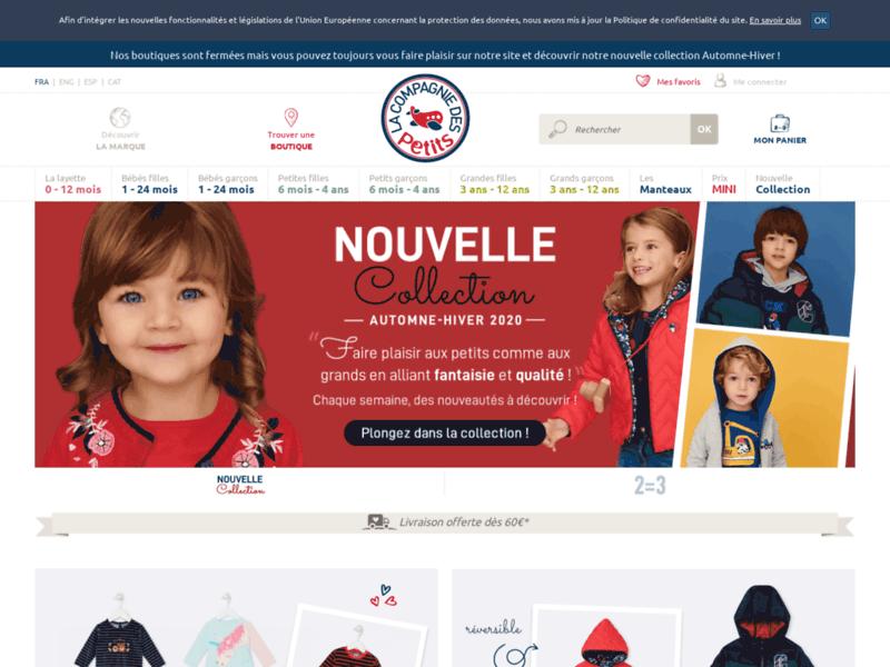 La Compagnie des Petits : Mode enfant