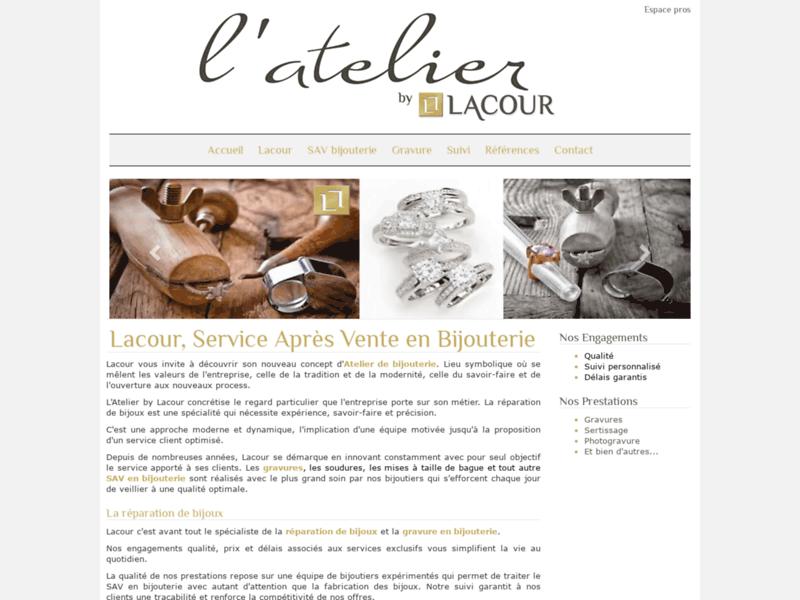 Atelier bijouterie Lacour
