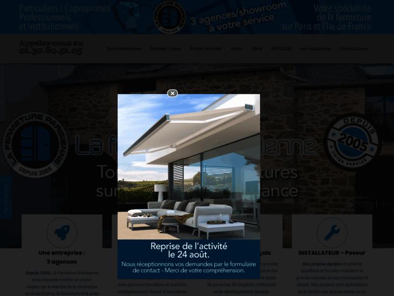 La fermeture parisienne : pose de fenêtres PVC à Paris